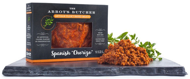 Artisan Vegan Ground Spanish Chorizo by The Abbot's Butcher