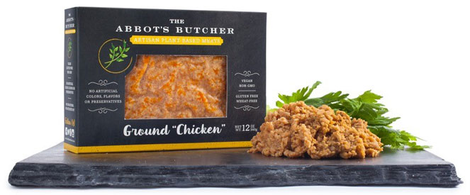 Artisan Vegan Ground Chicken by The Abbot's Butcher