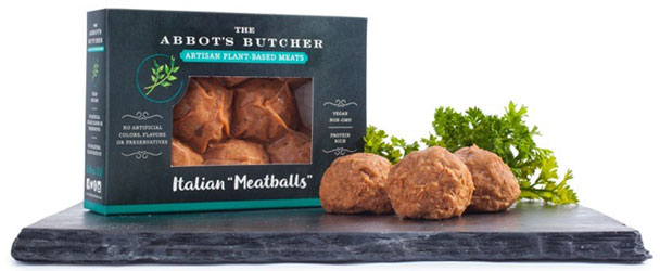 Vegan Artisan Italian Meatballs by The Abbot's Butcher