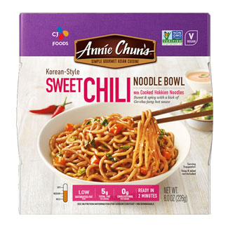 Annie Chun's Korean-Style Sweet Chili Noodle Bowl MAIN