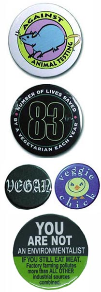 Buttons from Animal RightStuff