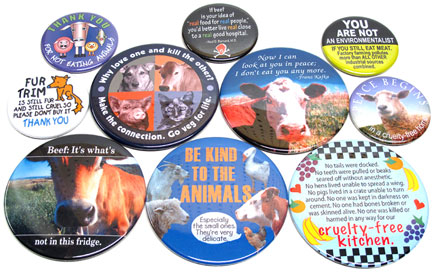 Magnets by AnimalRightStuff LARGE