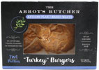 Vegan Artisan Turkey Burgers by The Abbot's Butcher