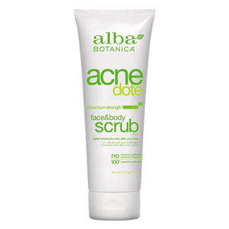 AcneDote Maximum Strength Face & Body Scrub by Alba Botanica MAIN