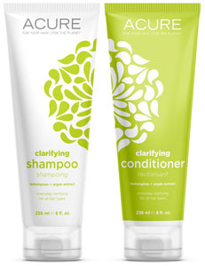 Acure Clarifying Shampoo or Conditioner