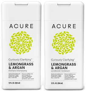 Acure Curiously Clarifying Shampoo or Conditioner LARGE