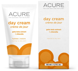 Acure Day Cream with Gotu Kola Extract + Chlorella