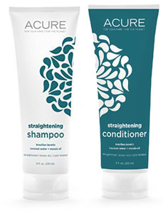 Acure Straightening Shampoo or Conditioner