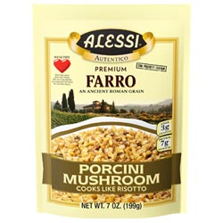Alessi Farro with Porcini Mushrooms THUMBNAIL