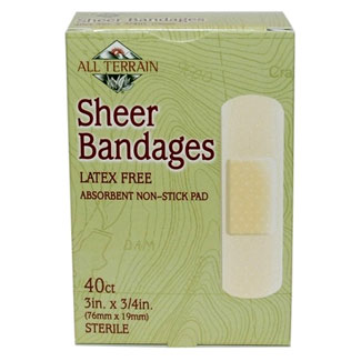 Latex-Free Sheer Bandages by All Terrain MAIN