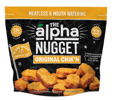The Alpha Nugget Original Chik'n Nuggets by Alpha Foods LARGE