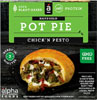 Alpha Foods Chick'n Pesto Handheld Vegan Pot Pie THUMBNAIL