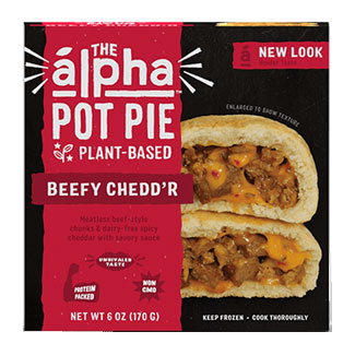 Alpha Foods Beefy Cheddar Handheld Pot Pie MAIN