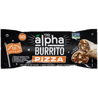 Alpha Foods Pizza Burrito MAIN