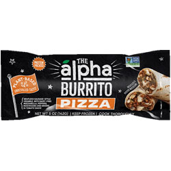 Alpha Foods Pizza Burrito THUMBNAIL
