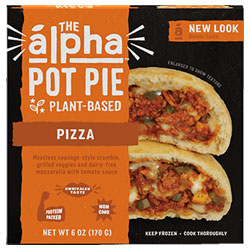 Alpha Foods Pizza Handheld Pot Pie THUMBNAIL