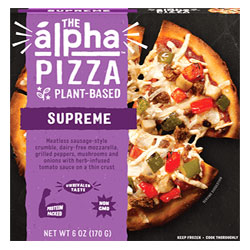 Alpha Pizza Supreme Personal Pizza by Alpha Foods THUMBNAIL