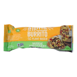 Alpha Burrito Veggie Breakfast Burrito by Alpha Foods MAIN