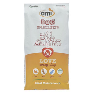 Ami Vegan Dog Food - 3.3 lb. bag of Mini Kibble MAIN