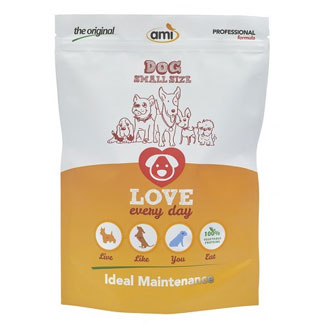 Ami Vegan Dog Food - 600g bag of Mini Kibble MAIN