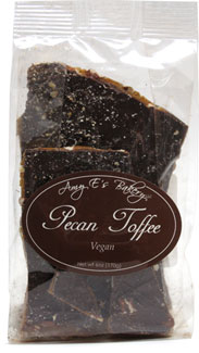 Vegan Pecan Toffee by Amy E's Bakery