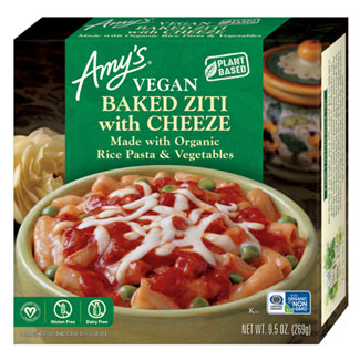 Amy's Organic Vegan Baked Ziti with Cheeze MAIN