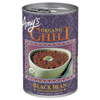 Amy's Organic Black Bean Chili MAIN