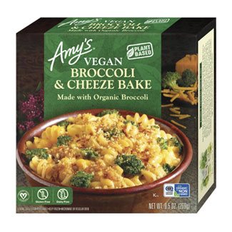 Amy's Organic Vegan Broccoli & Cheeze Bake MAIN