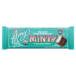 Amy's Organic Minty Candy Bar THUMBNAIL