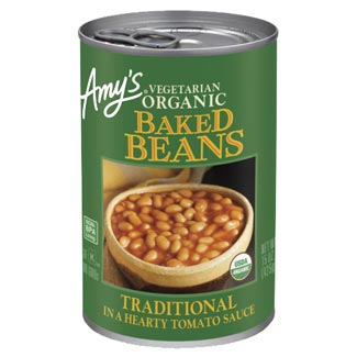 Amy's Vegetarian Organic Baked Beans MAIN