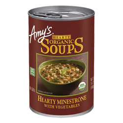 Amy's Organic Hearty Minestrone with Vegetables Soup THUMBNAIL