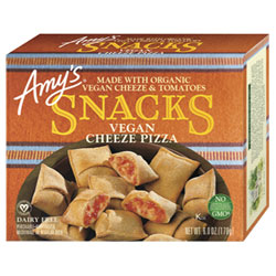 Amy's Vegan Cheese Pizza Snacks THUMBNAIL