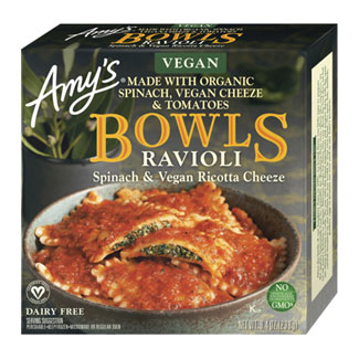 Amy's Spinach & Ricotta Cheeze Ravioli Bowl MAIN