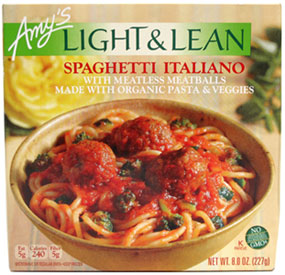 Amy's Spaghetti Italiano Light & Lean Meal