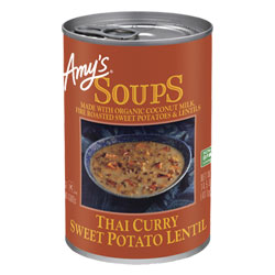 Amy's Thai Curry Sweet Potato Lentil Soup THUMBNAIL