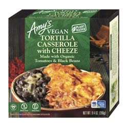 Amy's Organic Vegan Tortilla Casserole with Cheeze THUMBNAIL