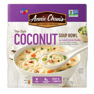 Annie Chun's Thai-Style Coconut Soup Bowl MAIN