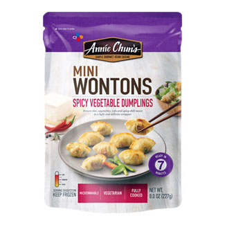 Spicy Vegetable Mini Wontons by Annie Chun's LARGE