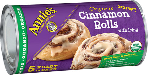 annie s organic cinnamon rolls with icing veganessentials online store