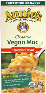 Annie's Homegrown Organic Vegan Cheddar Mac