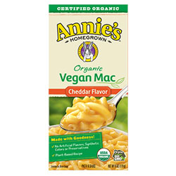Annie's Homegrown Organic Cheddar Mac THUMBNAIL