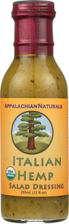 Organic Italian Hemp Salad Dressing by Appalachian Naturals