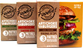 Artichoke Burgers by Five Star Foodies
