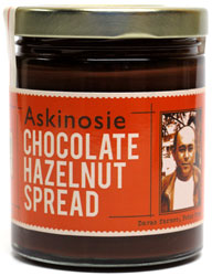 Chocolate Hazelnut Spread by Askinosie Chocolate
