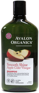 Smooth Shine Apple Cider Vinegar Shampoo by Avalon Organics