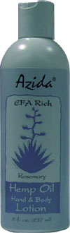 Azida Hemp Oil Lotion