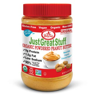 Just Great Stuff Organic Powdered Peanut Butter - Original MAIN