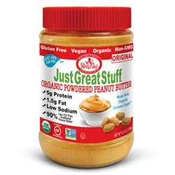 Just Great Stuff Organic Powdered Peanut Butter - Original THUMBNAIL