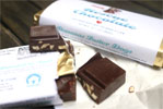 Bananas Foster Dogs Vegan Chocolate Bar by Rescue Chocolate