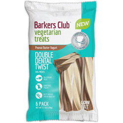 Barker's Club Double Dental Twist Dog Treats THUMBNAIL